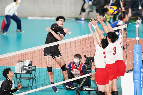 1年時から注目され続けてきた東福岡の柳北悠李。山本さんはメンタル面での成長を高く評価した