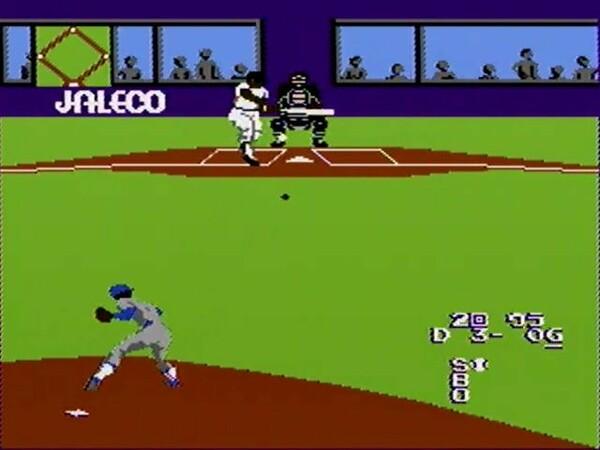 野球中継と同じセンターバックスクリーン側からの画面が画期的だった『燃えろ!!プロ野球』シリーズ