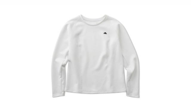 ▲「Shot Shirts(ショット シャツ)」¥10,890(税込) サイズ:[Women's] S, M, L カラー:ホワイト(写真), ブラック