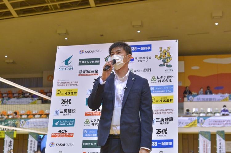 2020-21シーズン土浦大会 五十嵐監督インタビュー