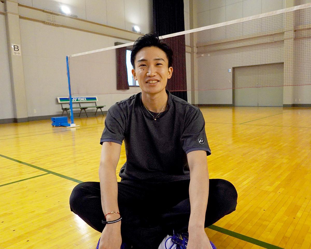 世界選手権を連覇し、東京五輪でも金メダルが期待されている桃田。中・高の6年間を過ごした被災地・福島への想いは強い