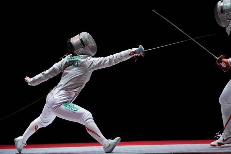 2020年の全日本フェンシング選手権大会では準優勝