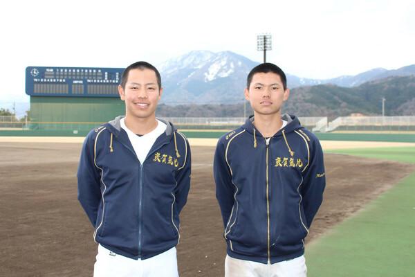 敦賀気比の中軸を担う大島正樹(左)と前川誠太。2年振りの聖地に向かう今の心境とは?