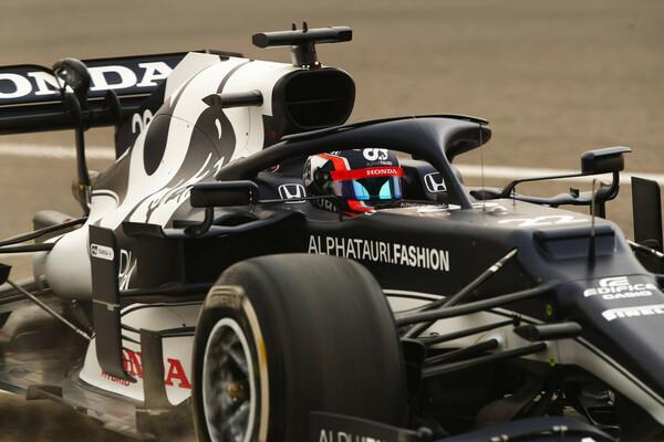 F1公式テストでは総合2番手タイムを記録。テストとはいえ、角田とマシンの実力は申し分ない