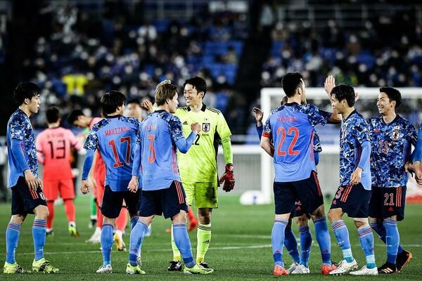 A代表は韓国に3-0で完勝。久々に実現した国内での試合で、最高の結果をつかんだ