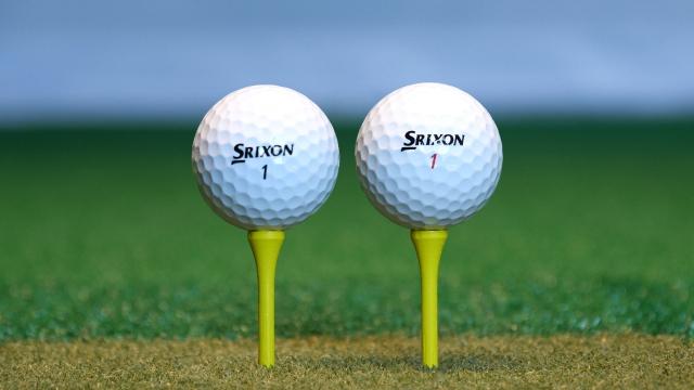 【試打計測】スリクソンの最新ボール「NEW Z-STAR & Z-STAR XV」を打ち比べてみた