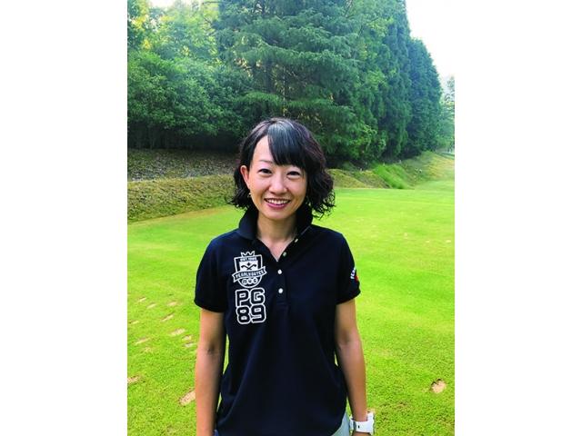 尾木裕美さん ゴルフ歴3年 ベストスコア90