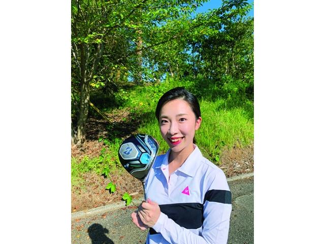 山本彩乃さん ゴルフ歴2年 ベストスコア100