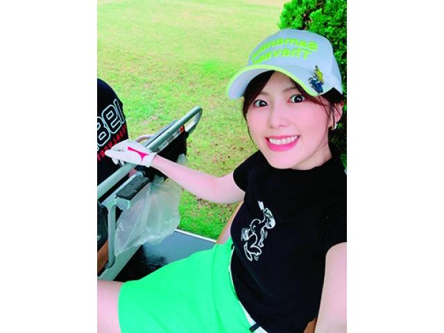 上垣真実さん ゴルフ歴7年 ベストスコア90