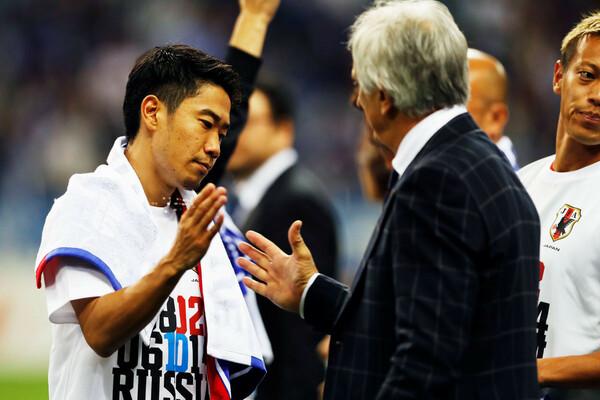 日本はオーストラリアを破り、ロシアW杯出場を決めた。出番のなかった香川真司は何を思ったか……