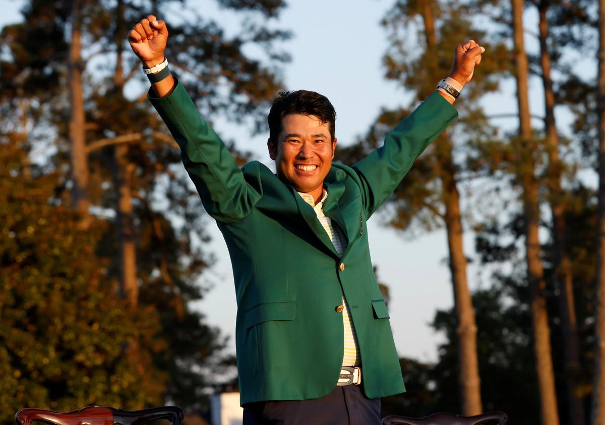 日本人選手で初めてマスターズ優勝を果たした松山にも金メダルの期待が高まる