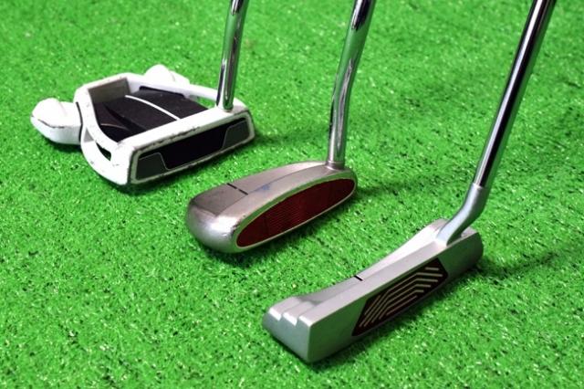 パッティングはゴルフスコアの約4割!その重要なパターの種類と選び方