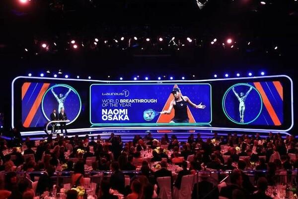 2019年には、テニスの大坂なおみが「年間最優秀成長選手賞」に輝いた
