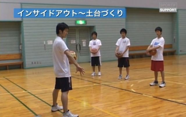 【バスケ練習メニュー】インサイドアウト 土台づくり|鈴木良和 今より少しうまくなろう