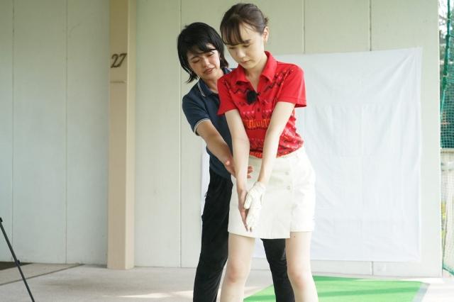 山本優子先生のボールを打たずに15ヤードアップ! 手打ちとおさらばして強いボールを打つ