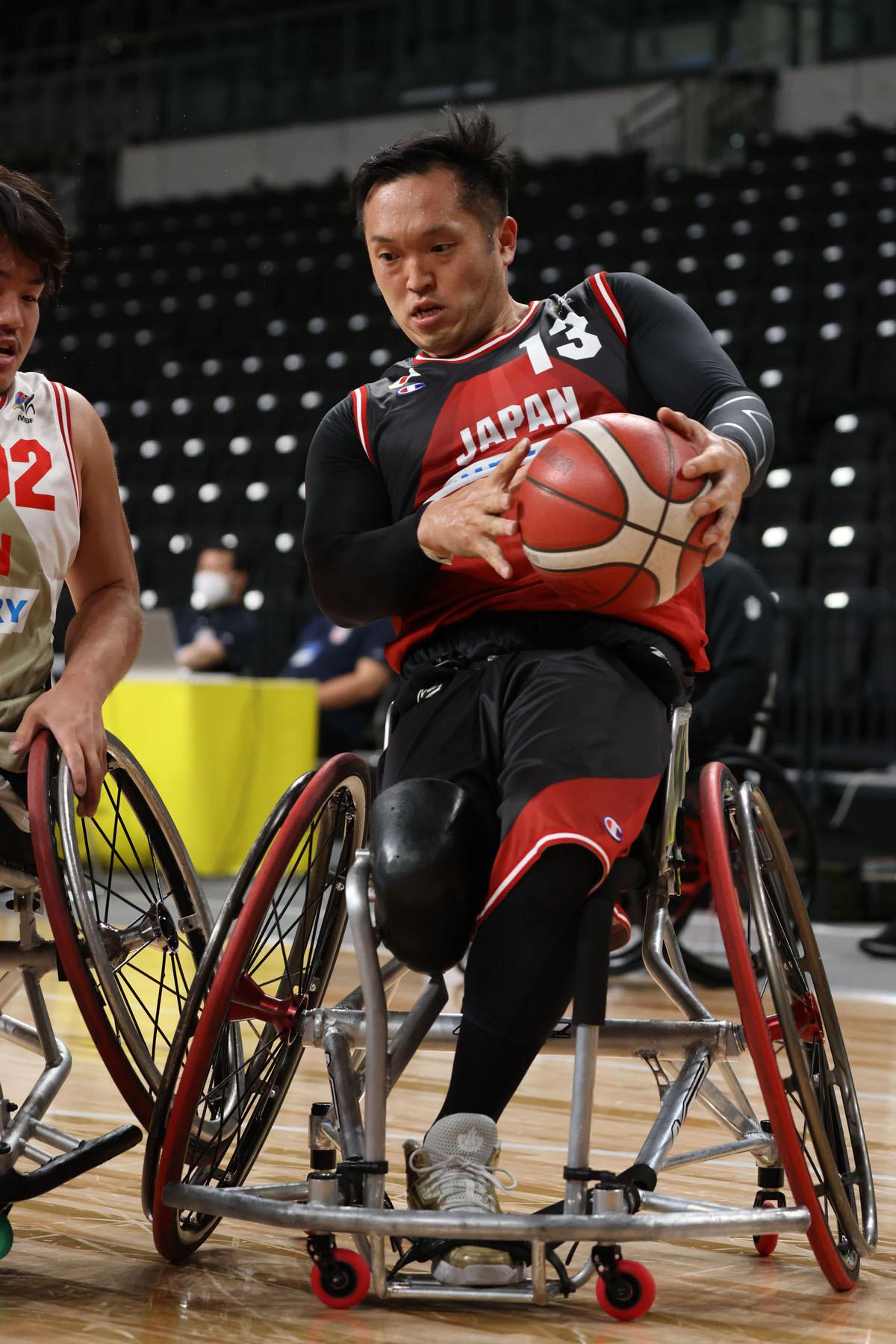 日本の車いすバスケ界をけん引し続ける37歳の藤本怜央