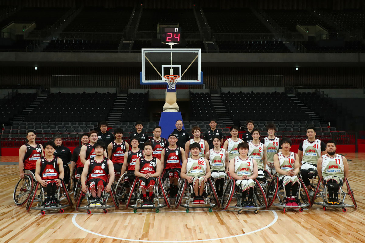 「夢でなく目標設定」と東京パラリンピックでの躍進を誓っている男子日本代表。残り期間でさらなる成長を目指す