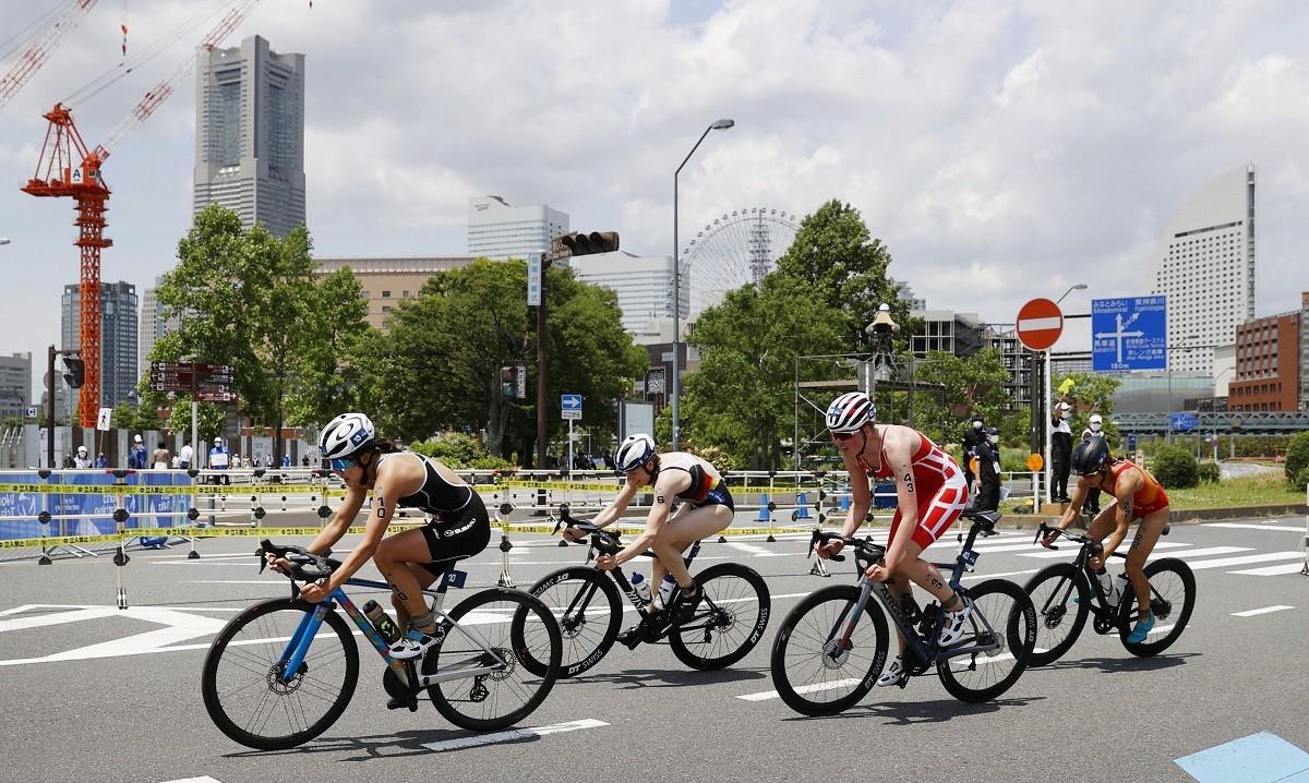 36カ国から180以上の選手が参加したトライアスロン横浜大会。徹底した「バブル方式」のもとで進められた