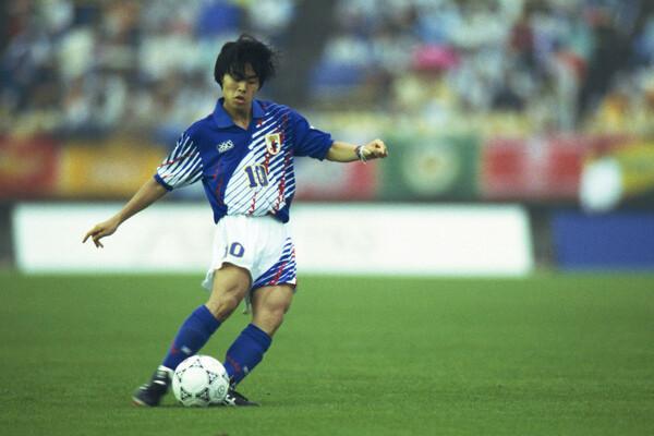 Jリーグ開幕元年の93年夏、日本開催となったFIFA U-17世界選手権(現U-17W杯)で日本代表の背番号10をつけ、天才と評されていた財前宣之