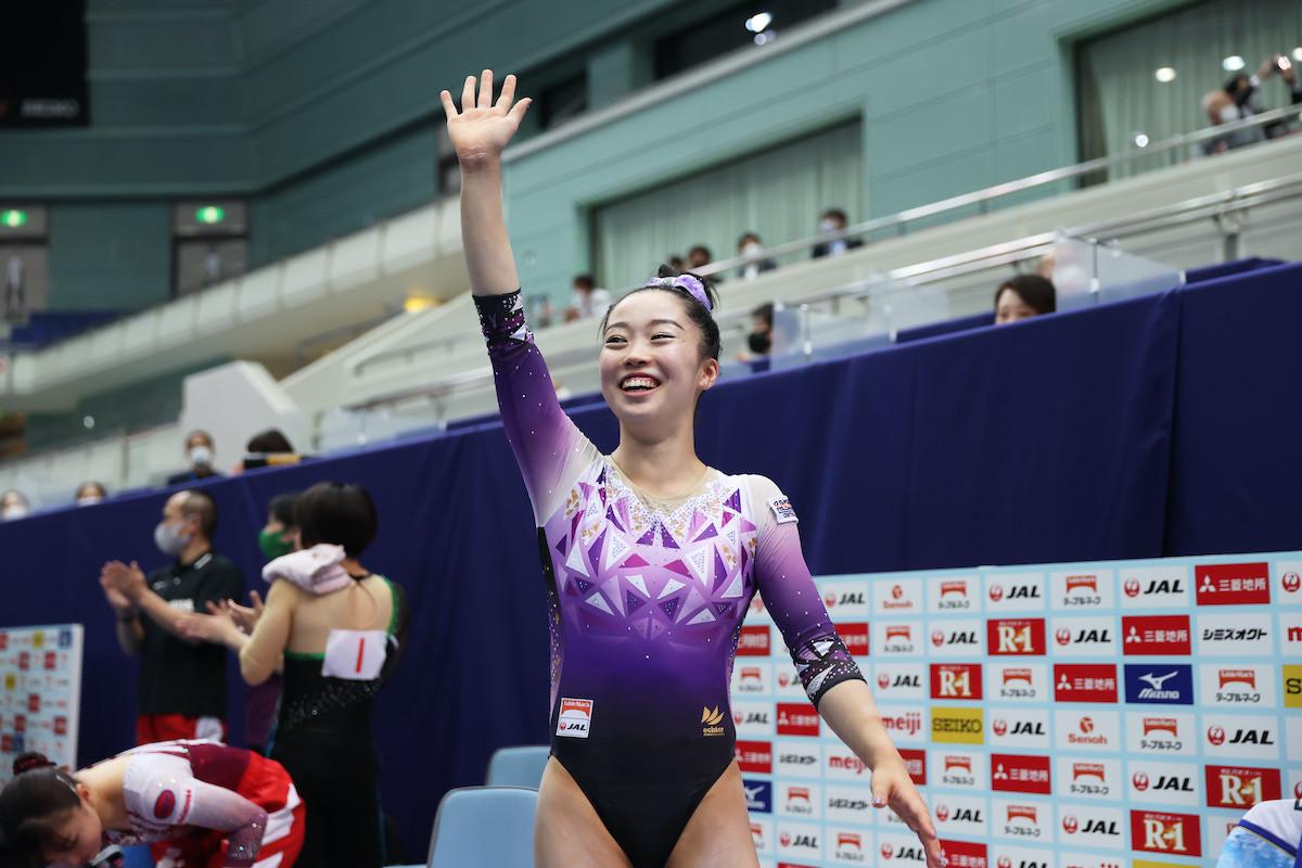 五輪内定を決めた畠田。父娘でのメダル獲得を目指す