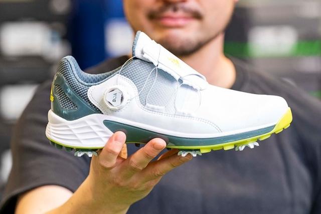 アディダス 「ZG21ボア」を試し履き GDO社員が新作ゴルフシューズの性能や履き心地を熱血レポート