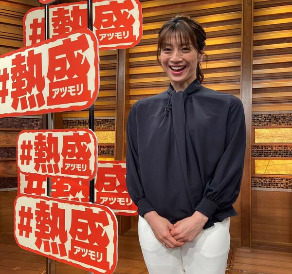 『報道ステーション』でスポーツキャスターを務めて6年目。「今も失敗だらけですよ」と言う寺川さんだが、その明るい笑顔に癒されているファンは多いはずだ