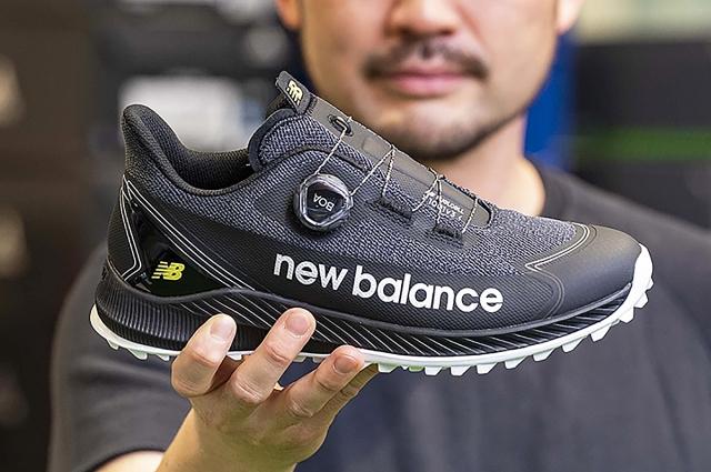 ニューバランス「MGS1001」を試し履き GDO社員が新作ゴルフシューズの性能や履き心地を熱血レポート