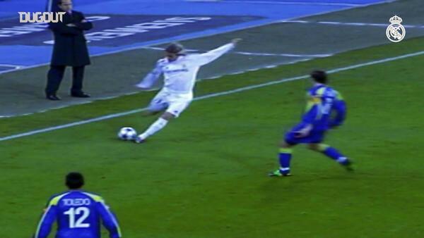 05-06シーズンのベッカムは国内リーグで11アシスト。その右足が猛威を振るった