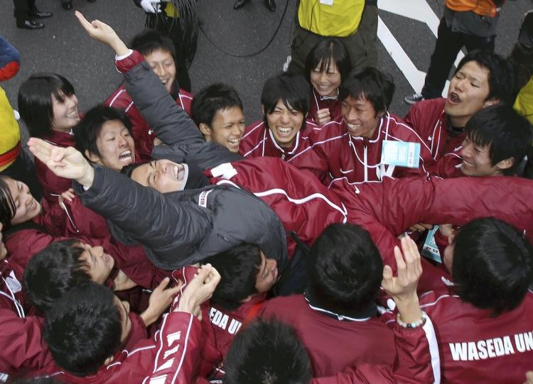 2011年の箱根駅伝で総合優勝した競走部。2022年は11年ぶりの総合優勝に挑む