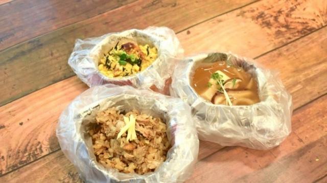 「いざという時のために災害食を学ぶ食育プラン」で学べる3つの災害食レシピ
