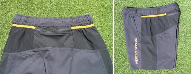 パワーメッシュのポケットが2分割されているので、合計7つのポケットとなる。
