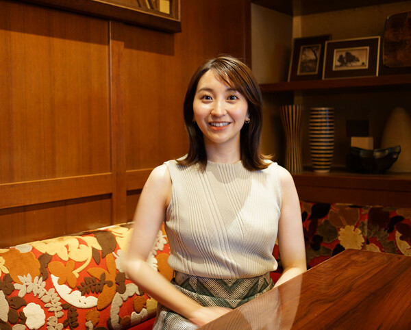 「好きなスポーツアナウンサー・女性編」ランキングで1位に輝いた袴田さん。YouTubeの影響力の大きさを実感したという