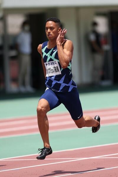 リオ五輪4×100メートルリレーの銀メンバーのケンブリッジは、持ち味の後半から伸びる走りを見せられるか