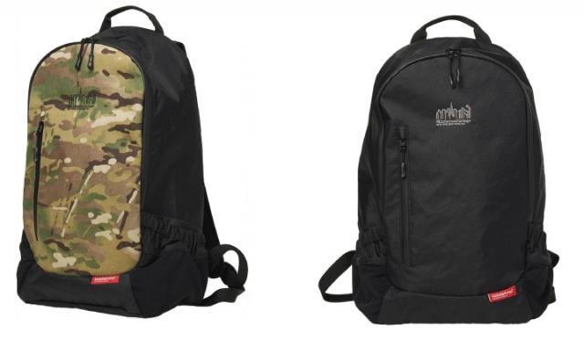 ▲「Intrepid Backpack X-Pac MP1270XPAC」¥24,750 カラー:左 Camo, 右 Black サイズ:W28×H50×D18.5cm