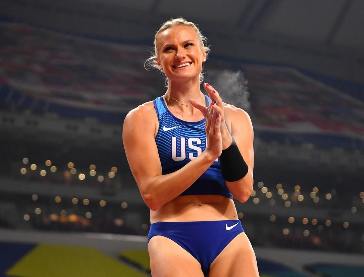 女子棒高跳びのケイティ・ナギオットは「オリンピック出場だけが私のゴールではありません」と語る