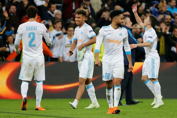 17-18年シーズン、酒井はヨーロッパリーグ決勝進出への過程でフランス全土に熱狂を生み出した