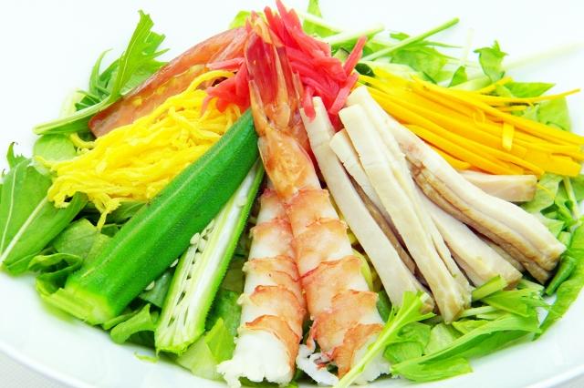 筑紫野カントリークラブ「夏野菜の冷やし中華」