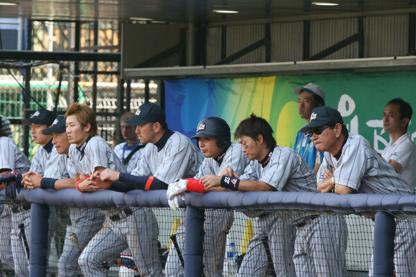 星野仙一監督の下、最強メンバーが集まって臨んだ北京五輪だったが、結果は4位。主将を務めた宮本氏は「寄せ集めのチームだった」と振り返る
