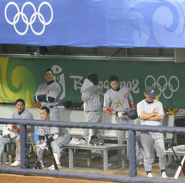 2008年北京五輪のメンバーだった(写真左から)森野将彦、G.G.佐藤、宮本慎也の3氏。13年後にオンラインで再会し、本音トークを展開した。