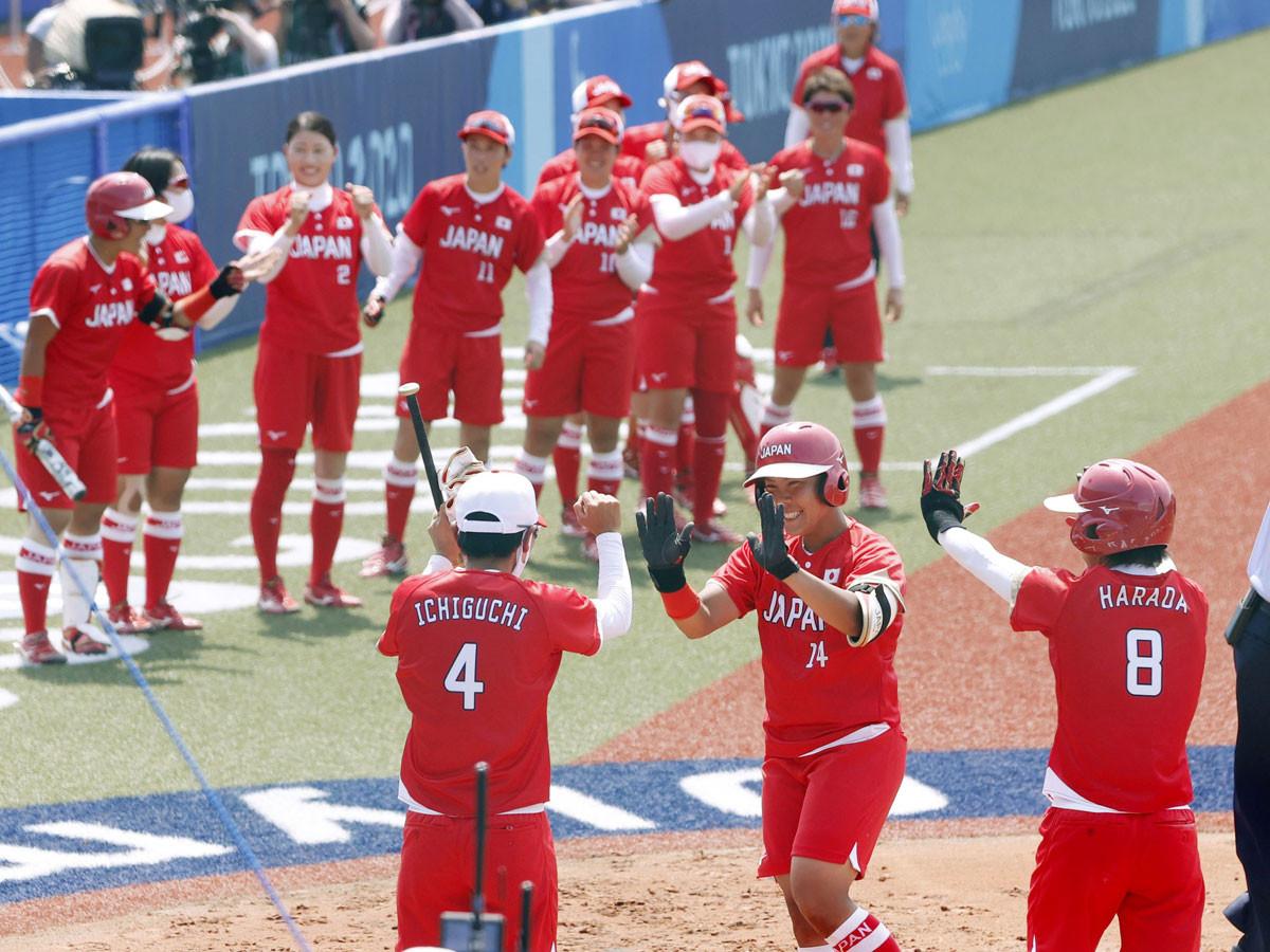 1回表に先制されたものの、終わってみれば8-1で5回コールド勝ち。金メダルを目指す日本代表が最高のスタートを切った
