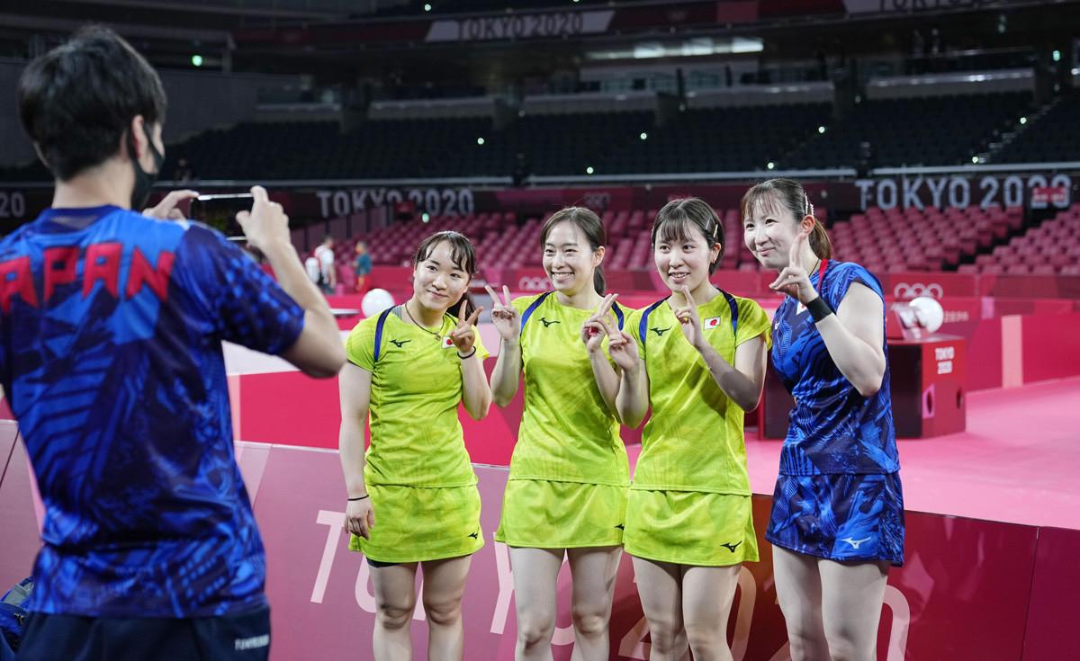 リオ五輪では男子団体で銀、女子団体で銅メダルを獲得し、個人戦でも水谷隼が銅メダルに輝くなど大きな飛躍を果たした日本選手団。東京大会では金メダルの期待がかかる