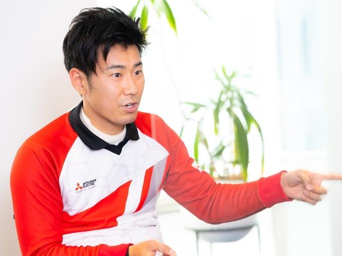 絶大な信頼を寄せる末武コーチとは10年来の付き合い。リオパラリンピック時は日本からアドバイスを送ってもらい調子を取り戻したという