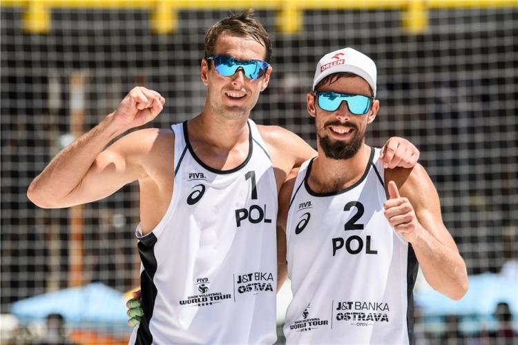高い技術のビーチバレーボールを展開するKANTOR/LOSIAK組(ポーランド)