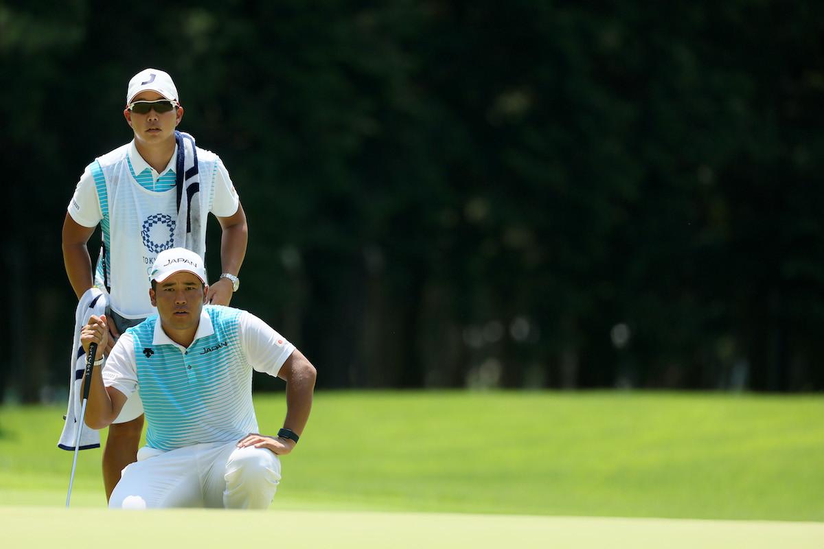 """優勝したマスターズのときとは、まず""""顔""""が違ったとタケ小山氏は指摘する。自国開催の五輪ということで、松山が大きなプレッシャーを感じていたのは間違いないだろう"""