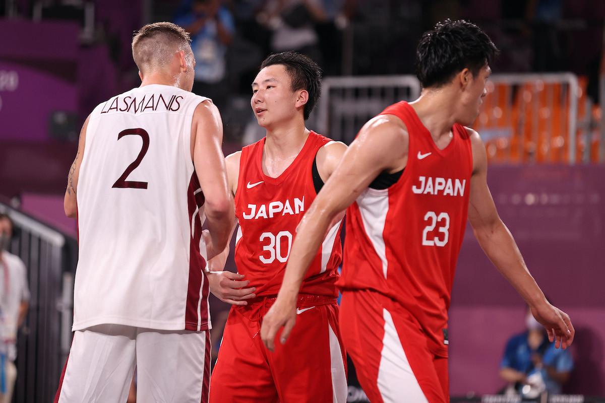 決勝トーナメント準々決勝でラトビアに惜敗。目標としていたメダルには届かなかった