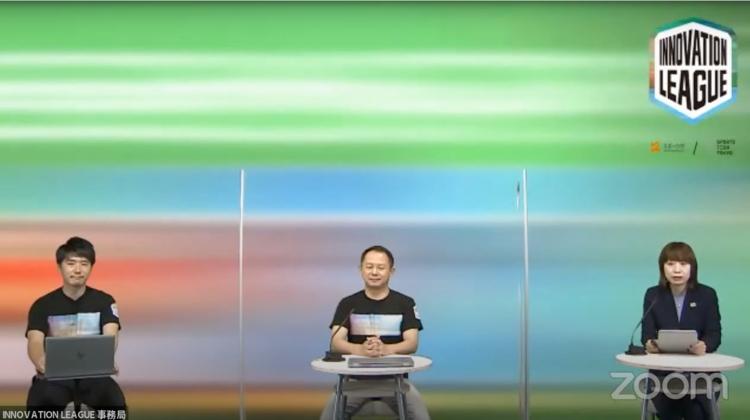 左)SPORTS TECH TOKYO 白石幸平氏、中央)SPORTS TECH TOKYO プログラムオーナー 中嶋文彦氏、右)スポーツ庁 参事官(民間スポーツ担当)付 参事官補佐 坂本弘美氏
