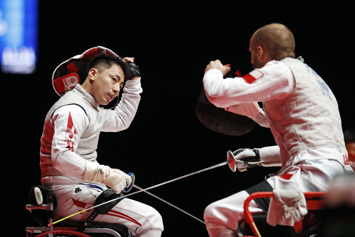 「パラリンピックに出たい」と協会に直談判して東京パラリンピック出場にたどり着いた。結果は目標に届かなかったが、最後の団体は自分の力を出し切ったような表情を見せた