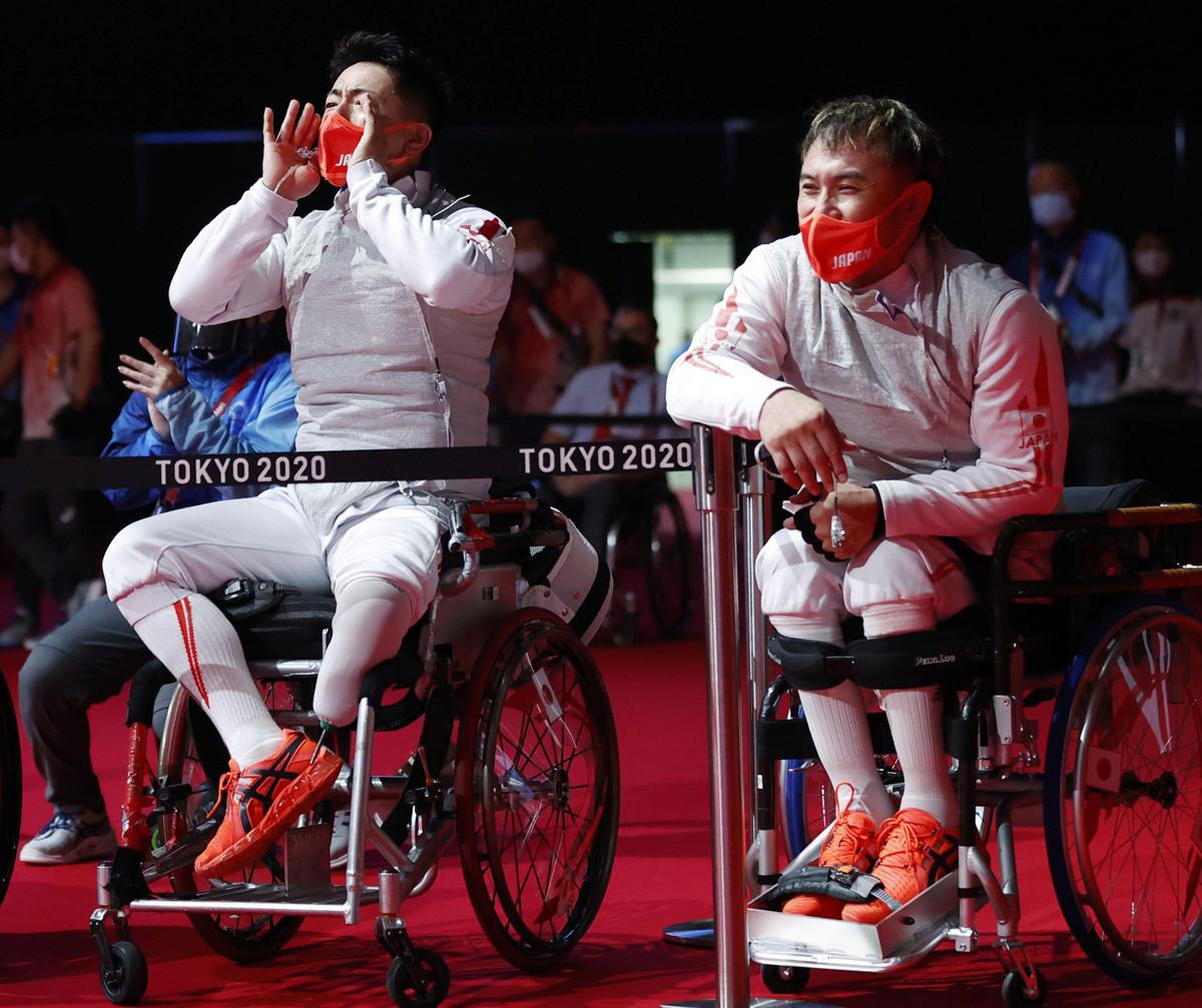 パリパラリンピックへの出場を明言しなかったものの、次の挑戦への前向きな視線は感じられた