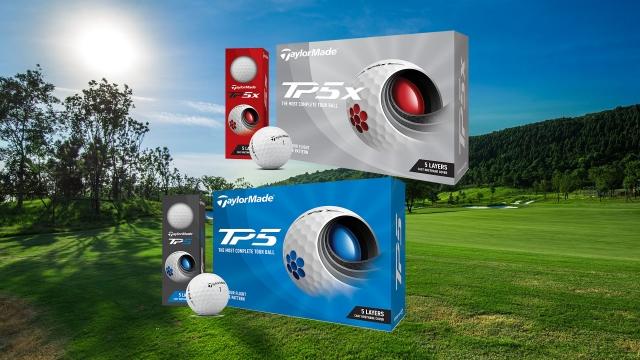 フィーリングが良く、初速も出しやすい!テーラーメイド「TP5」「TP5x」(2021年モデル)