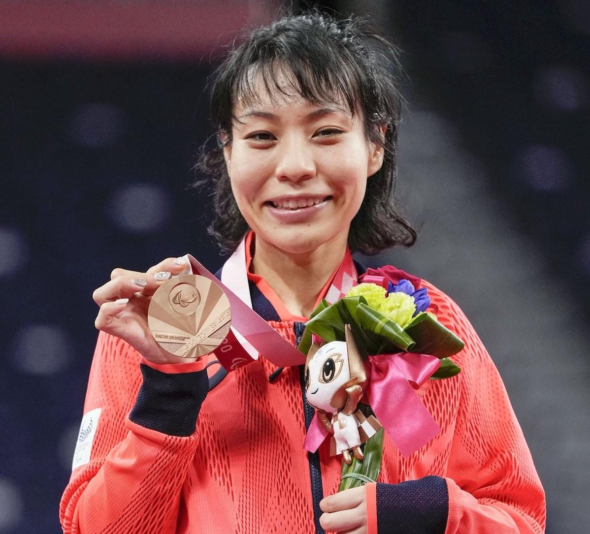 パラ初採用となったバドミントンで銅メダルを獲得した杉野